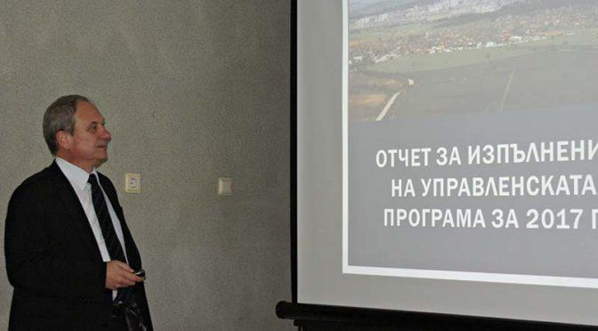 Кметът д-р Димитров с публичен отчет за дейността си
