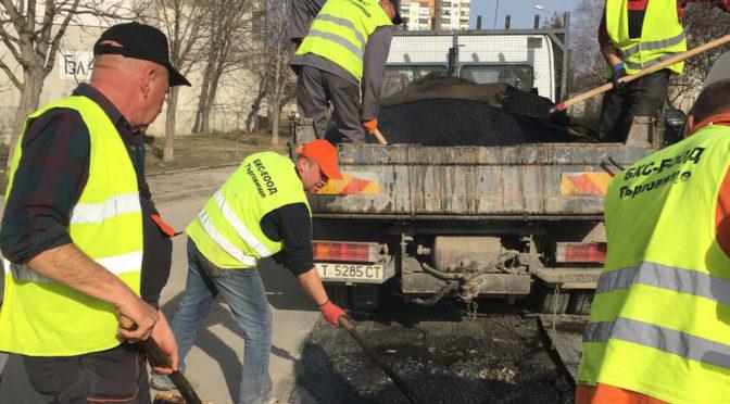 Продължава обновяването на уличната инфраструктура и през 2018 г.