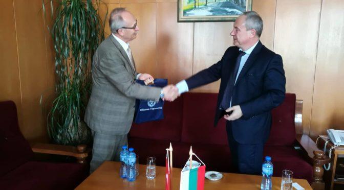 Генералният консул на Република Турция в Бургас посети Община Търговище