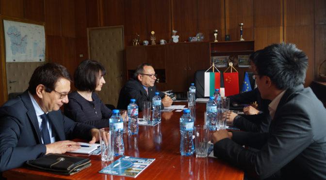Община Търговище посрещна делегация от Посолството на Китайската Народна Република