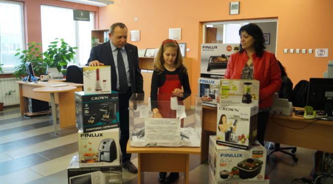 40 награди бяха разпределени в жребия за стимулиране на данъкоплатците в община Търговище