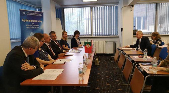 Кметовете на Търговище и Санта Мария да Фейра участват в бизнес форум в София