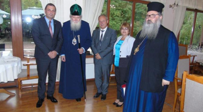 Среща с партиарха на Българската православна църква Неофит