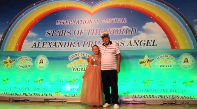 Бащата на Филип Киркоров награди 11 – годишната Сесил Алпер от Търговище на Международен конкурс в Албена