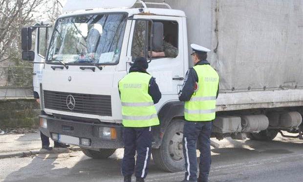 235 нарушения са установени при управлението на товарни автомобили и автобуси по време на едноседмична акция