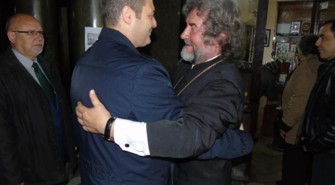 """Областният управител присъства на храмовия празник на църквата """"Свети Иван Рилски"""""""