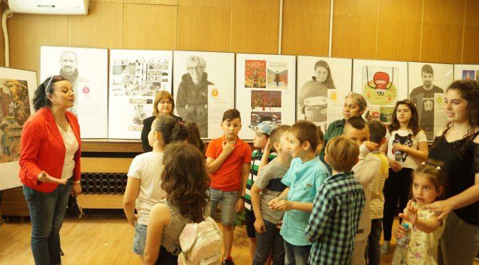 Откриха гостуващата изложба със съвременна илюстрация за деца
