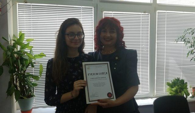 Началникът на РУО – Търговище награди отличниците на НВО и ДЗИ от областта
