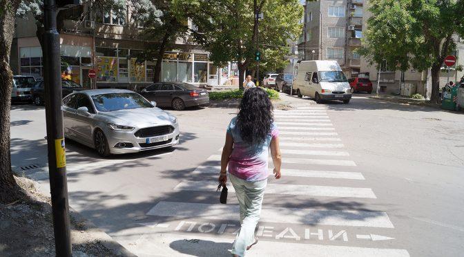 """Монтиран е пешеходен светофар на ул. """"Хаджи Димитър"""""""