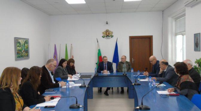 Работна среща за собствеността на язовирите се проведе в Областна администрация – Търговище