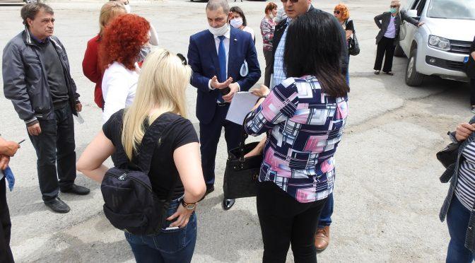 Областният управител се срещна с жителите на село Алваново