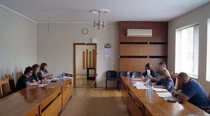 Общинската преброителна комисия проведе първото си заседание