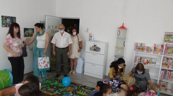 Заместник областният управител участва в официалното откриване на детски отдел към читалището в с. Пробуда