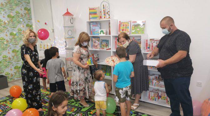 Откриха детски отдел към читалището в Буховци