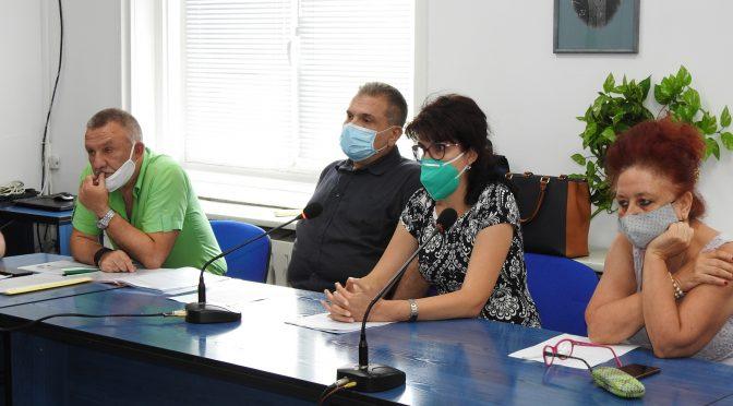 Извънредно заседание на Областния кризисен щаб за борба с коронавируса