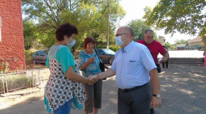 Заместник областният управител откри официално новоизградения детски отдел за игра в с. Буховци