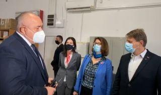 Премиерът Б. Борисов посети швейцарски завод за кабелни системи в Търговище