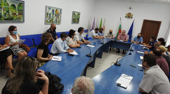 Проведе се работна среща във връзка с предстоящите парламентарни избори